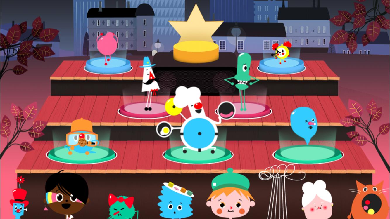 iPad-peli lapsille
