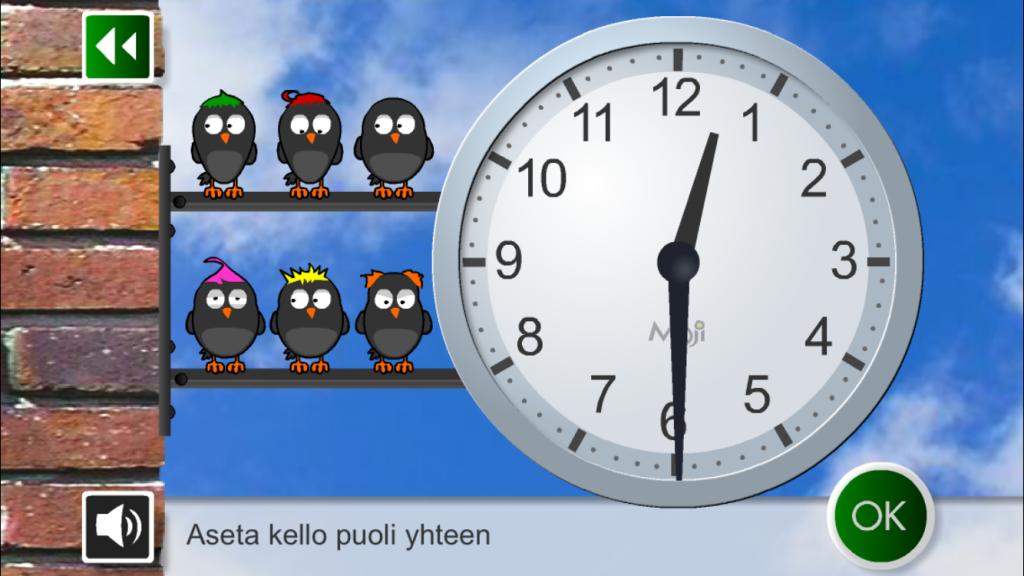 Kellon opettaminen lapselle