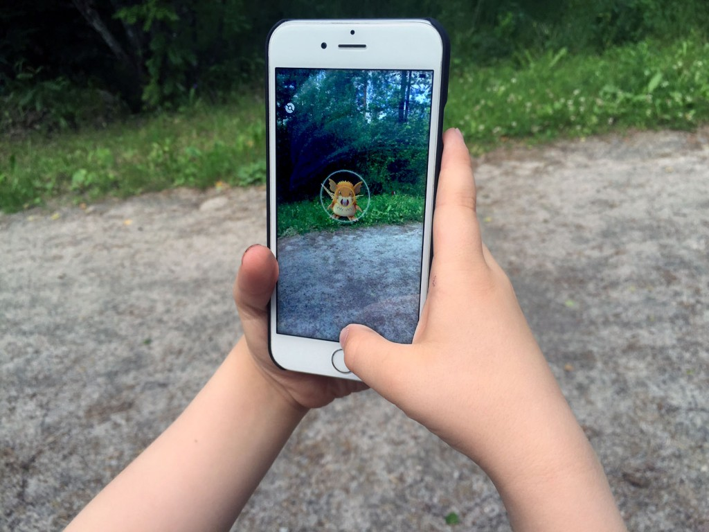 Pokemon Go.