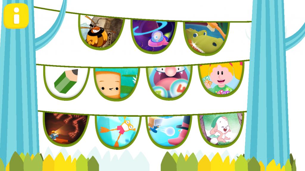 Pikku Kakkosen sovellus sisältää ilmaisia pelejä lapsille.