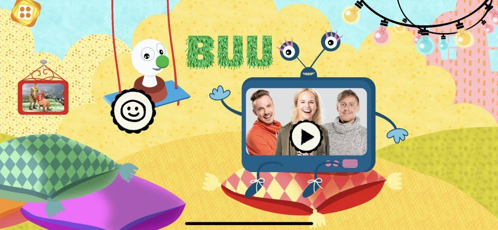 Buu-klubben fri app till barn
