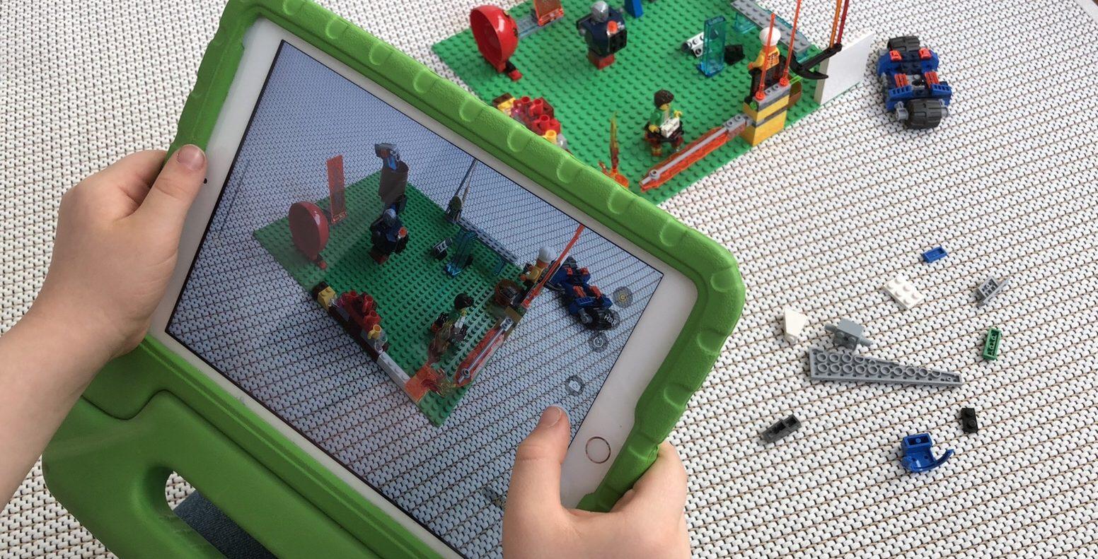 Lego-ohjeet ipadilla