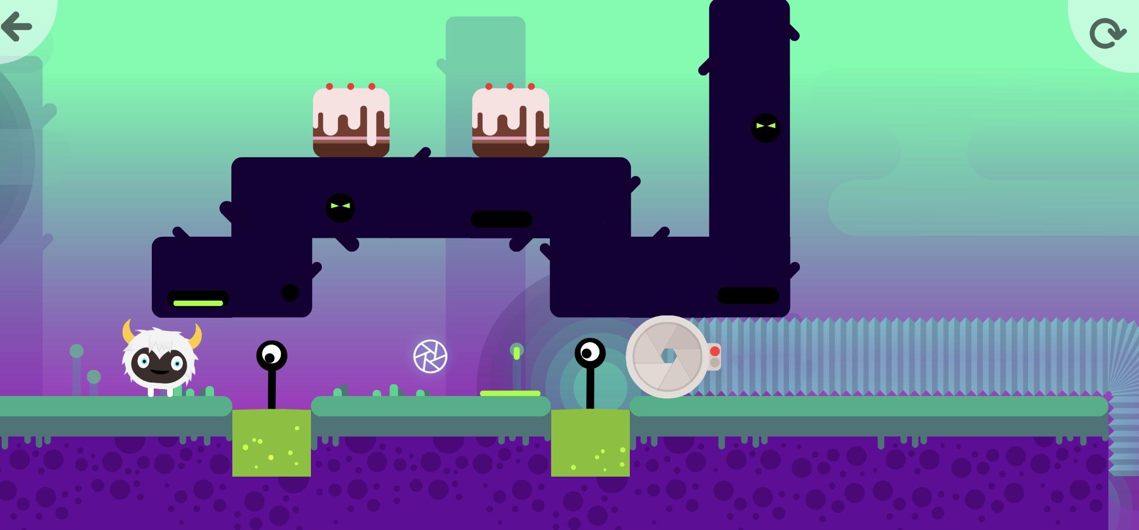 Thinkrolls Space on kiva tablettipeli lapsille