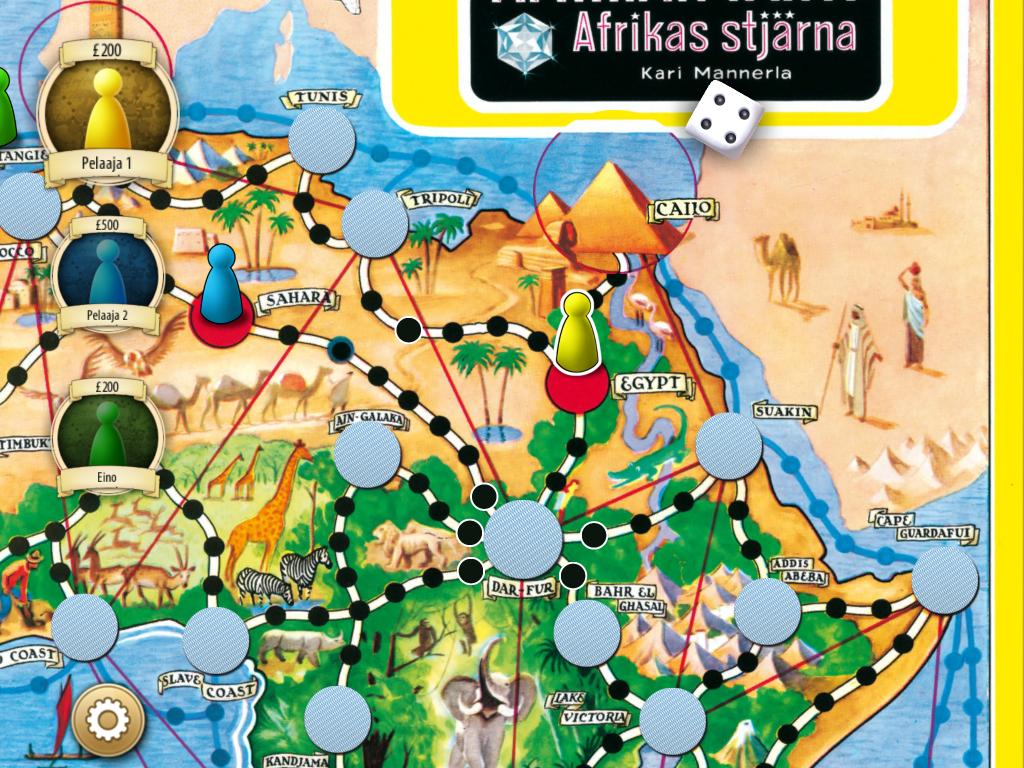 Afrikan tähti sovellus