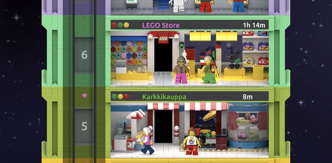 Lego Tower pelivinki