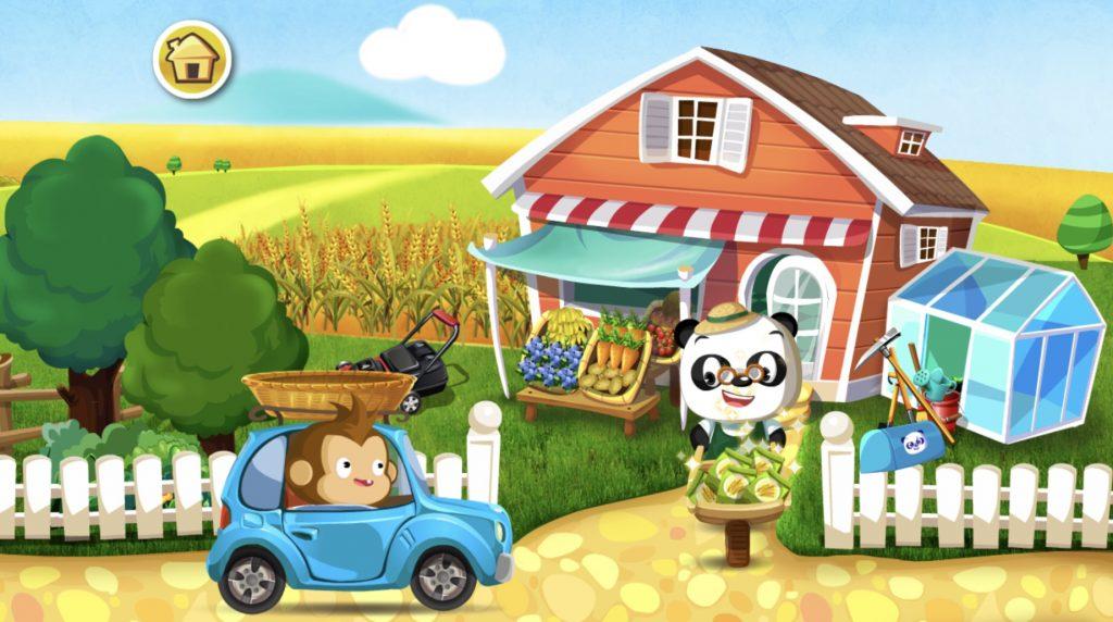 Dr. Panda puutarha