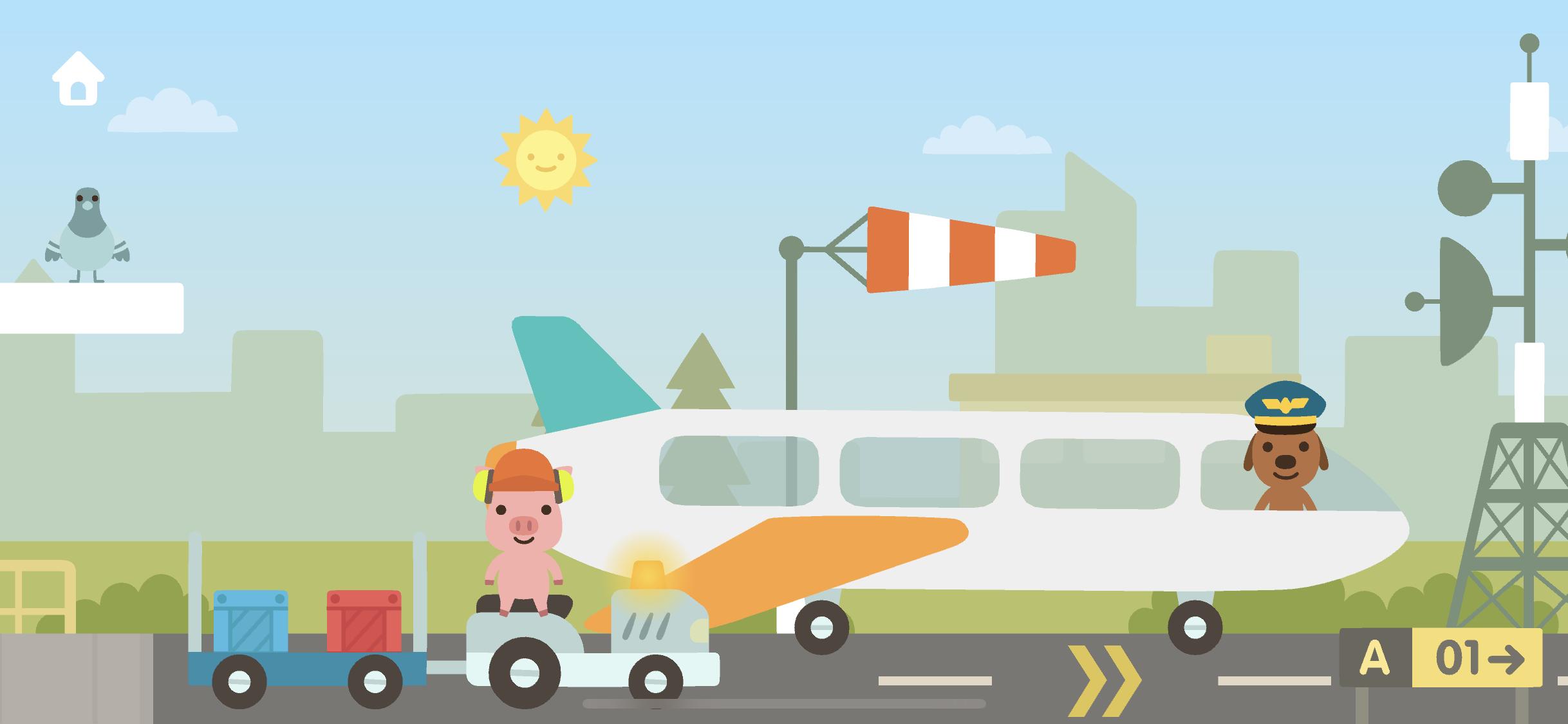 Sago Mini airport