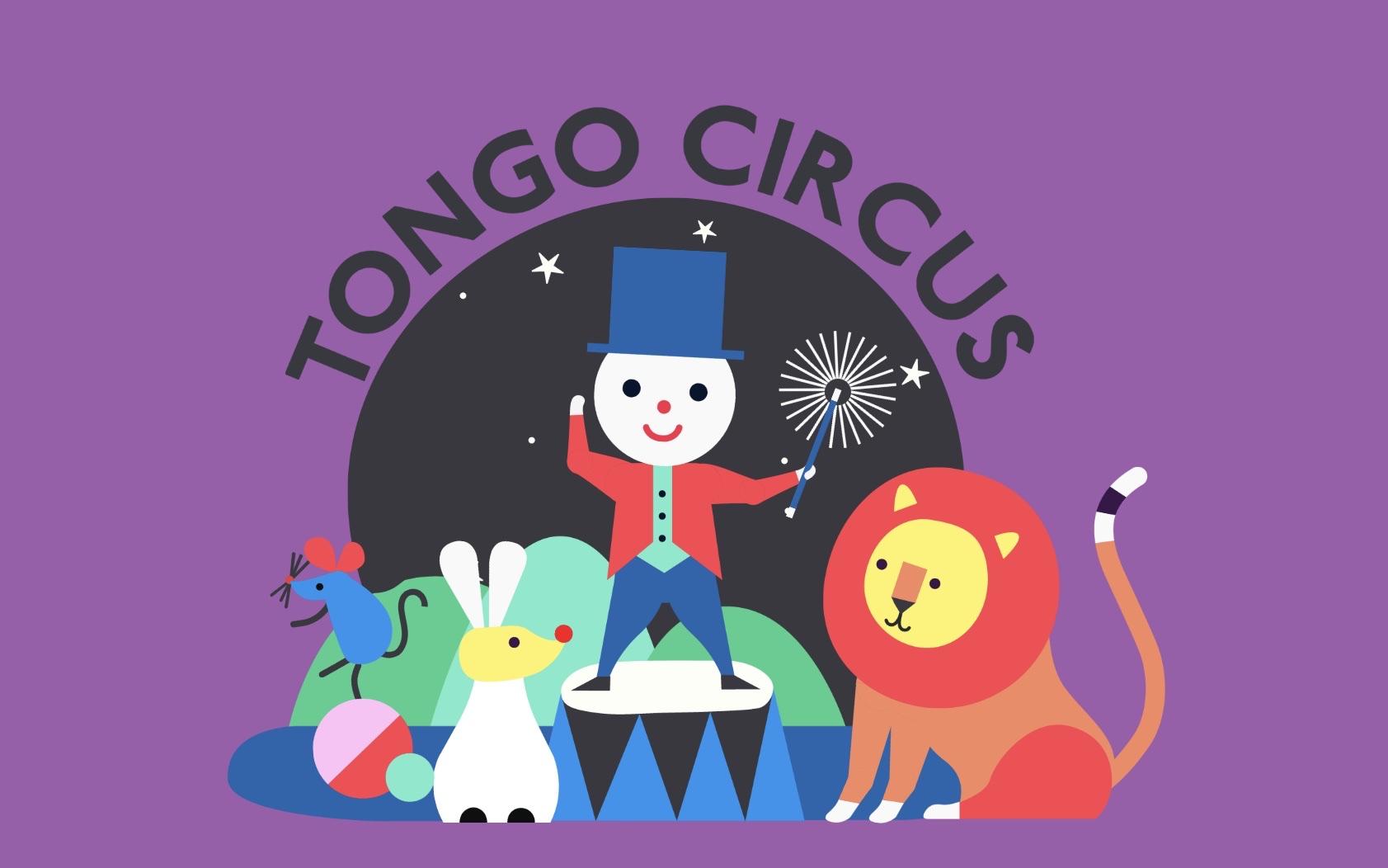 Tongo Circus peli taaperolle