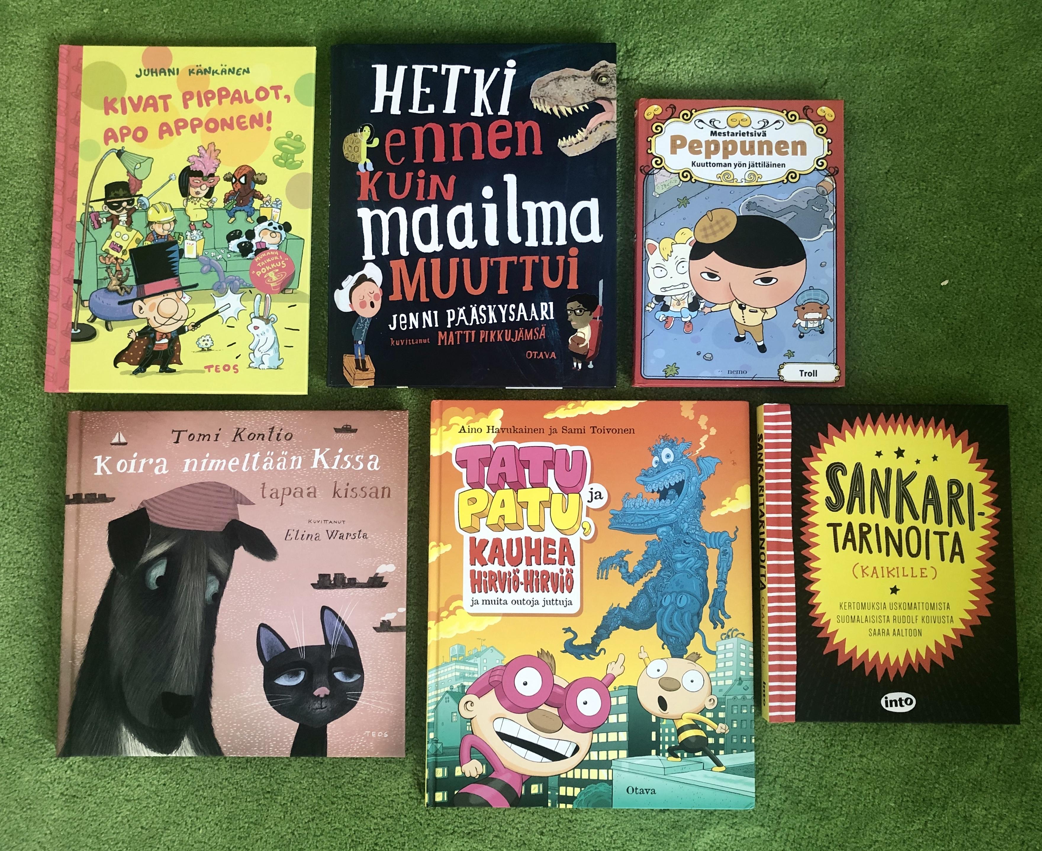 kirjoja 9-vuotiaalle