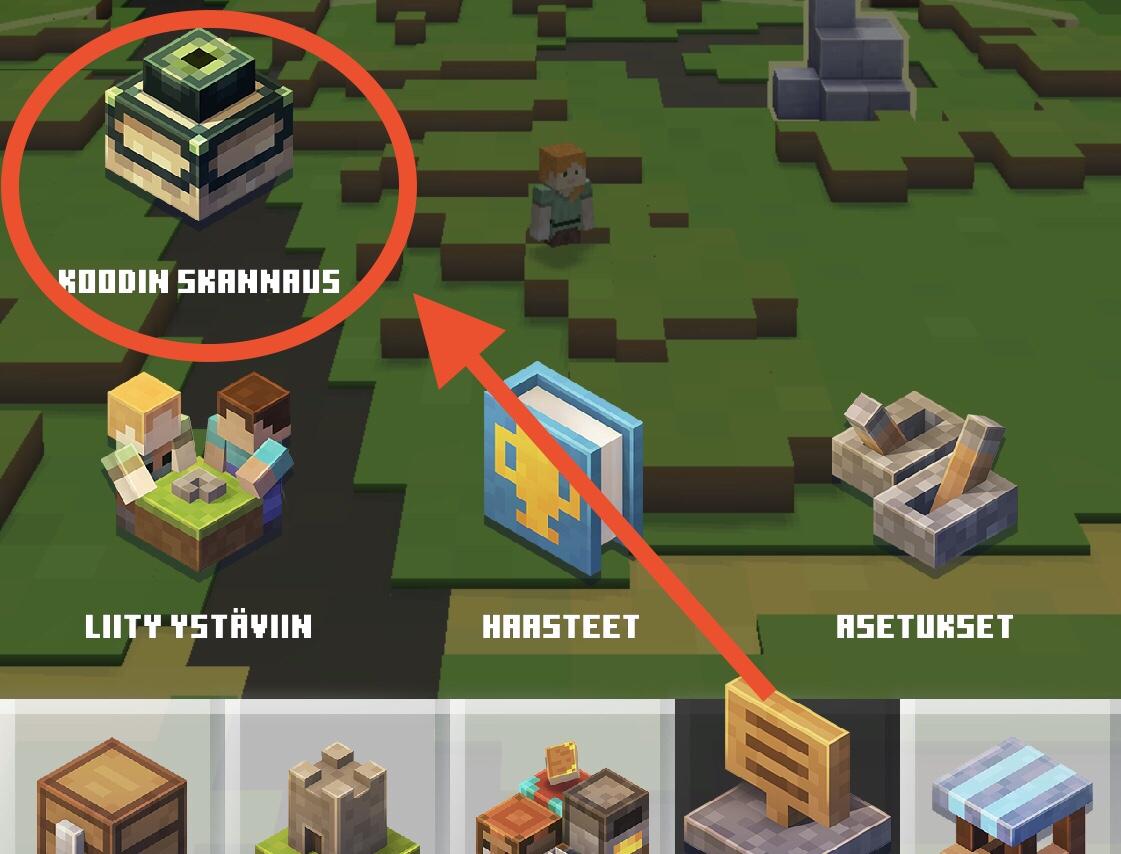 Minecraft Earth - peli lapselle