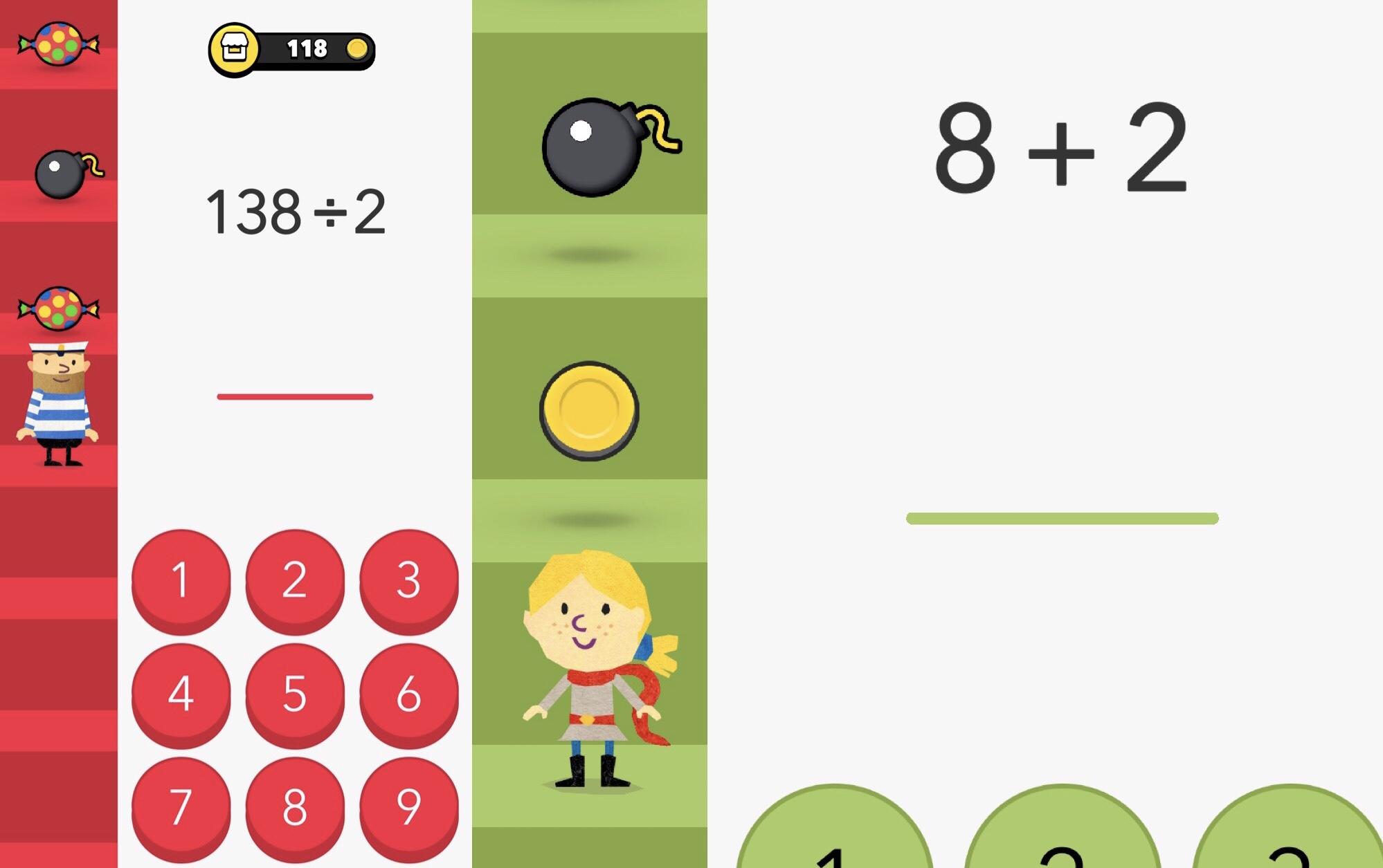 Fiete math climber matikkapeli lapsille